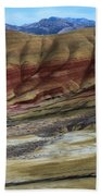 John Day Painted Hills Beach Towel