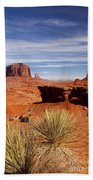 John Ford Point Monument Valley Beach Towel