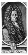 John Locke, English Philosopher, Father Beach Towel by Science Source