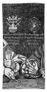 John Of Leiden (1509-1536) Beach Towel