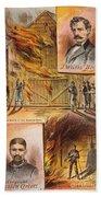 John W.booth (1835-1865) Beach Towel