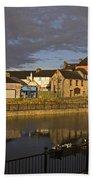 Johns Quay & River Nore, Kilkenny City Beach Towel