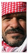 Jordanian Man Beach Towel