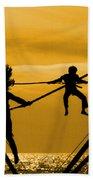 Jump For Joy Beach Sheet