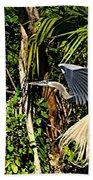 Jungle Flight Beach Sheet