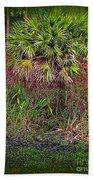Jungle Palm Beach Towel