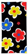 Junior Florals Beach Towel