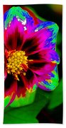Just Another Regular Flower In The Garden Beach Towel