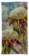 Just Dandelion Beach Towel