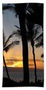 Ka'anapali Sunset Beach Towel