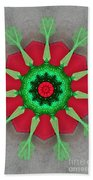 Kaleidoscope Mermaid Beach Towel