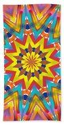 Kaleidoscope Series Number 7 Beach Towel
