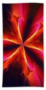 Kaliedoscope Flower 121011 Beach Towel by David Lane