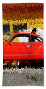 Karmann Ghia Beach Towel