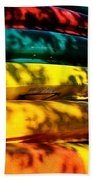 Kayak Colors Beach Towel