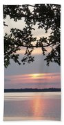 Kentucky Lake At Sunsset Beach Towel