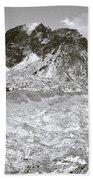 Khumbu Glacier Beach Towel