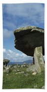 Kilclooney, Co Donegal, Ireland Dolmen Beach Towel