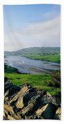 Killybegs, Co Donegal, Ireland Stone Beach Towel