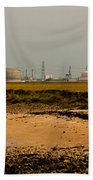 Kingsnorth Power Station Beach Towel