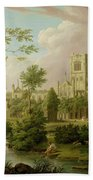 Kirkstall Abbey - Yorkshire Beach Towel