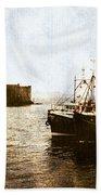 Kisimul Castle Scotland Beach Towel by Jasna Buncic