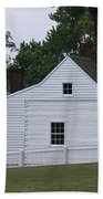 Kitchen And Slave Quarters Appomattox Virginia Beach Towel