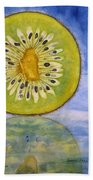 Kiwi Reflection Beach Towel