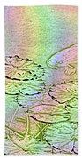 Koi Rainbow Beach Towel