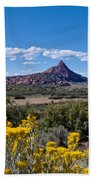 Kolob Terrace Afternoon Beach Towel