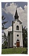 Kostel Panny Marie Lourdske Beach Towel