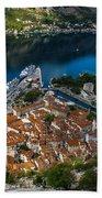 Kotor Montenegro Beach Towel