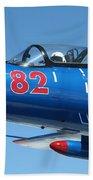 L-29 Delfin Standard Jet Trainer Beach Towel