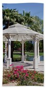 La Quinta Park Gazebo Beach Towel