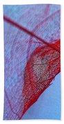 Lace Leaf 3 Beach Towel