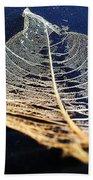 Lace Leaf 4 Beach Towel