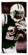 Ladainian Tomlinson - 01 Beach Towel by Paul Ward