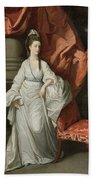 Lady Grant - Wife Of Sir James Grant Beach Towel