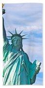 Lady Liberty Beach Towel