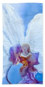 Lady Orchid The Sky Beckons Beach Towel