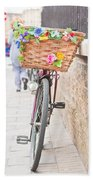 Lady's Bike Beach Sheet