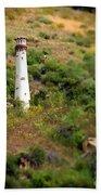 Laguna Beach Light Tower Beach Towel