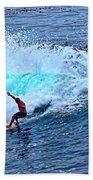 Laguna Surfer Beach Towel