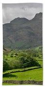 Lake District England Beach Towel