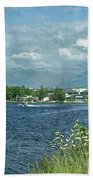 Lake Hood Anchorage Alaska Beach Towel