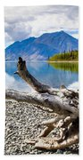 Lake Kathleen In Kluane National Park Beach Towel