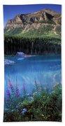 Lake Louise Banff Canada Beach Towel
