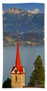 Lake Lucerne Beach Towel