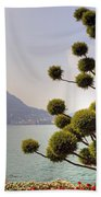 Lake Lugano - Monte Salvatore Beach Towel