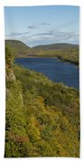 Lake Of The Clouds 4 Beach Towel